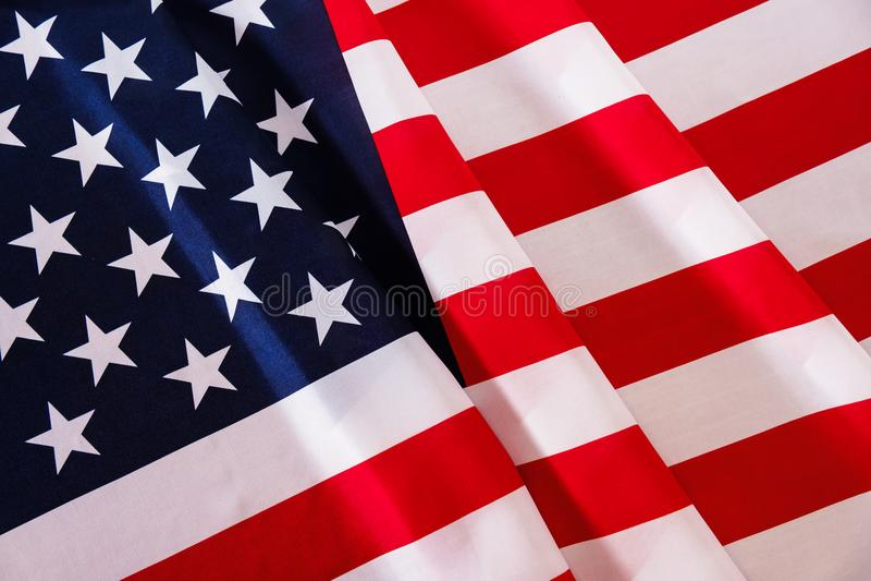 USA amerikanska flagganbakgrund royaltyfria foton