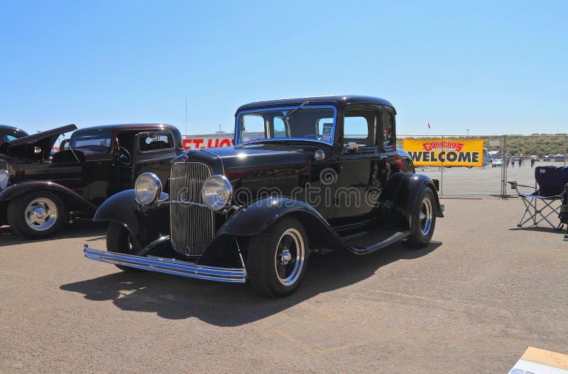 USA: Antykwarski samochód - 1932 Ford 5 okno coupé obraz royalty free