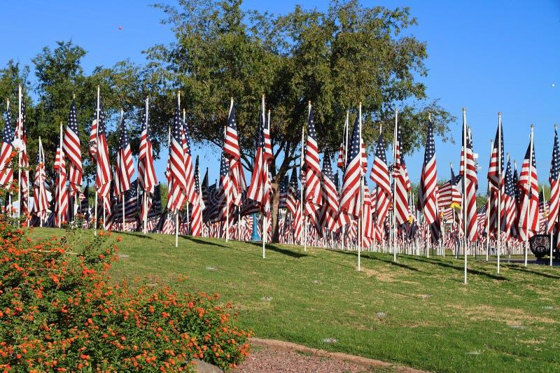 USA, Arizona/Tempe: 9/11/2001 - Healing Fields royalty free stock photography
