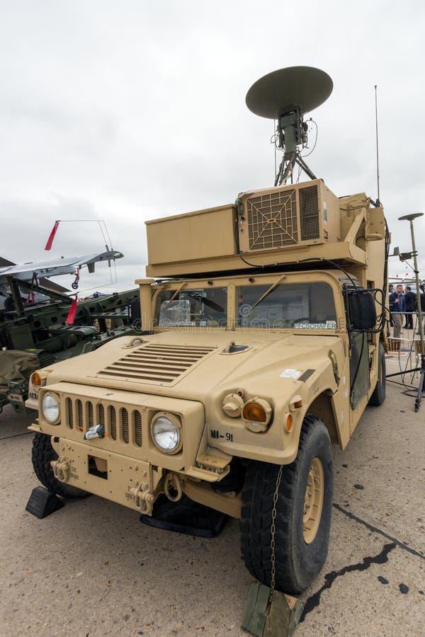 USA-armé M1113 Humvee arkivfoto