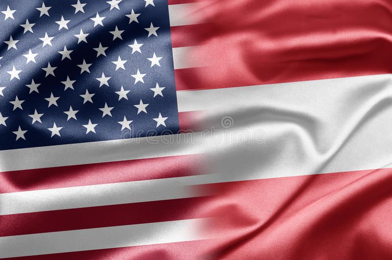 Download USA And Austria Stock Photography - Image: 28584752