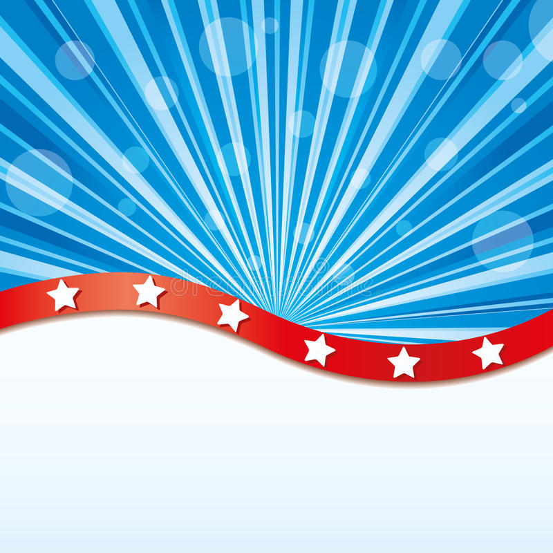 USA background royalty free illustration