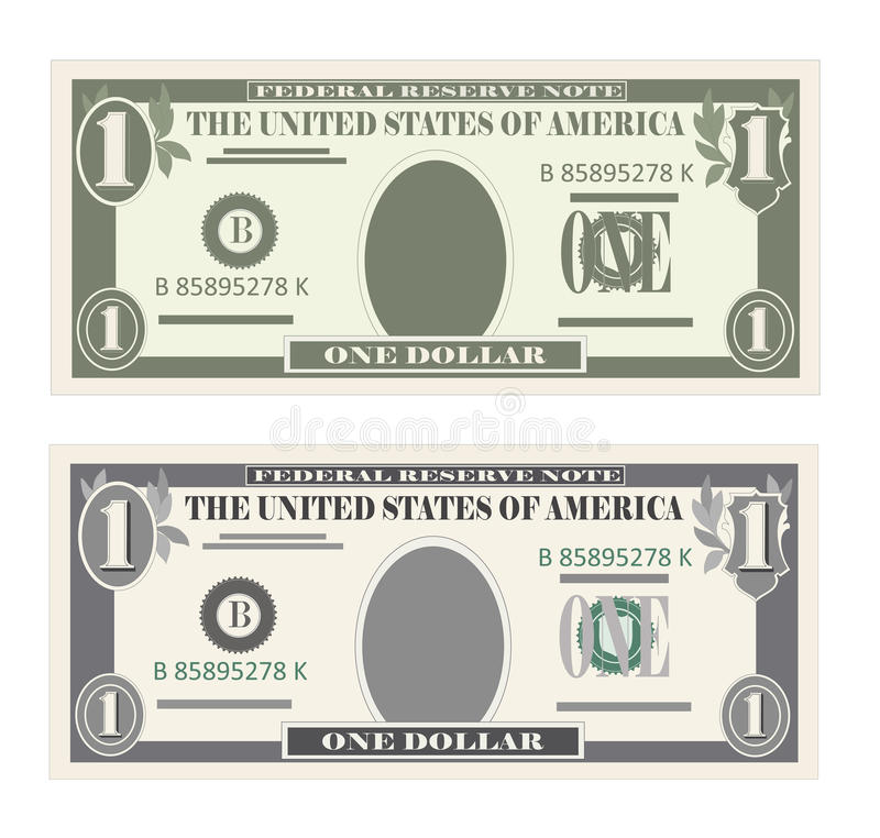 Free USA Banking Currency, Cash Symbol 1 Dollar Bill. Royalty Free Stock Photography - 90365597