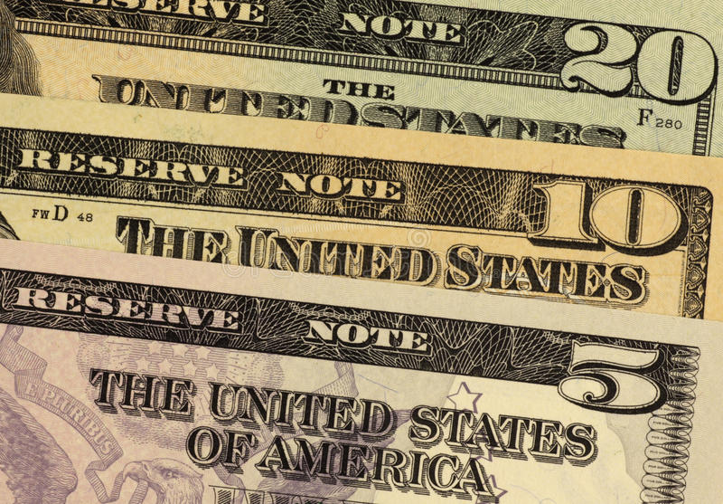 Download USA Banknotes stock image. Image of american, states - 15380997