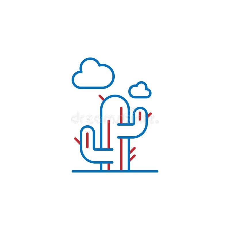 USA, botanical icon. Element of USA culture icon. Thin line icon for website design and development, app development. Premium icon. On white background royalty free illustration