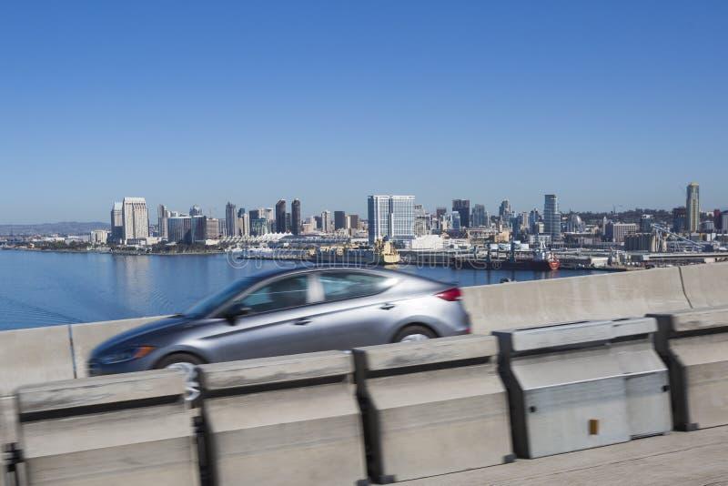 USA - California - San Diego - the coronado bridge stock image