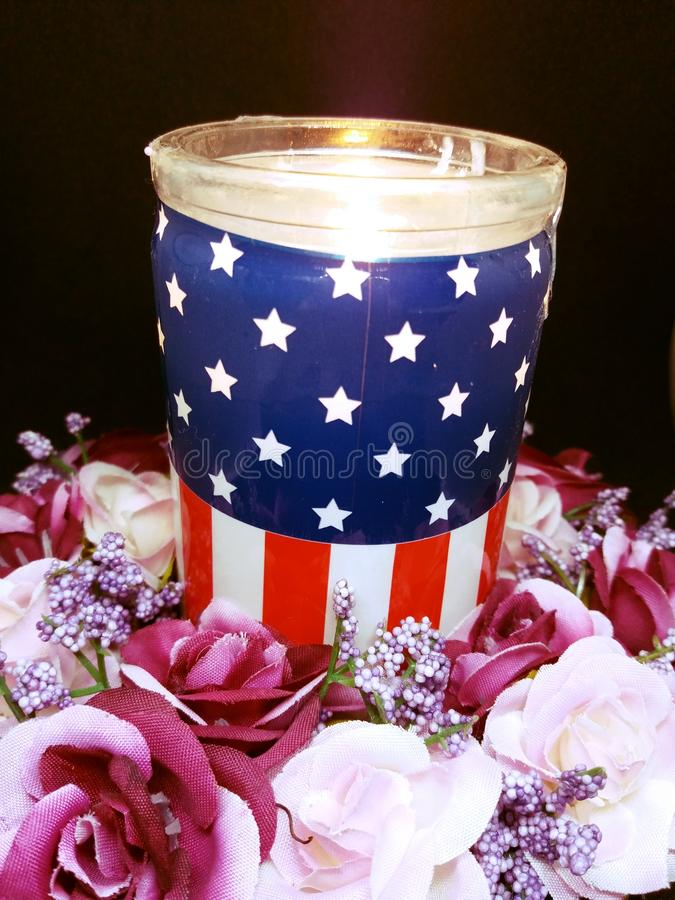 Usa candle stock images