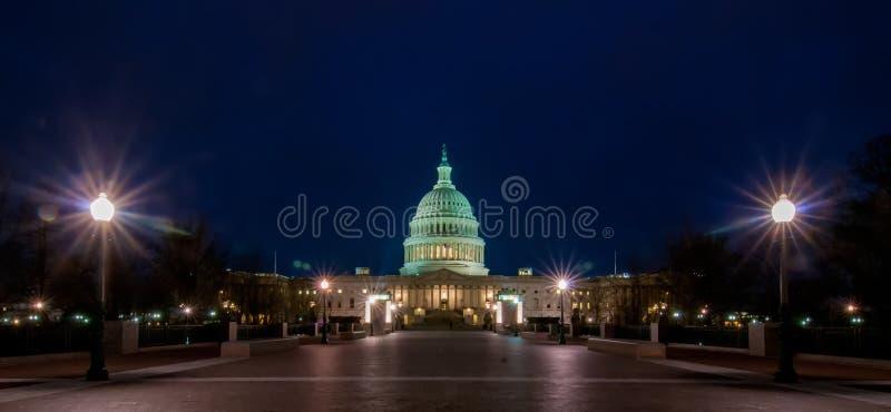 USA Capitol budynek w wiośnie zdjęcia stock