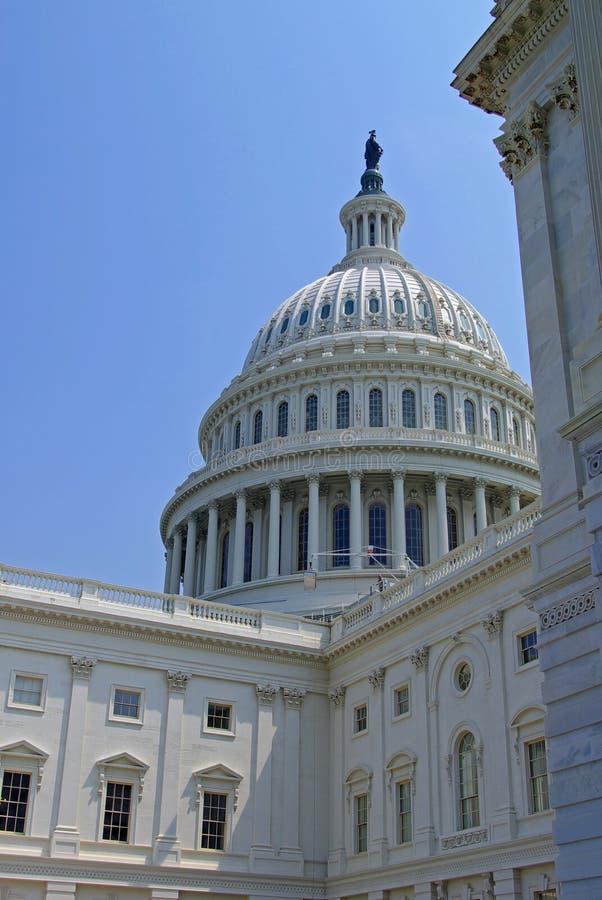 USA Capitol Budynku Kopuła zdjęcia royalty free