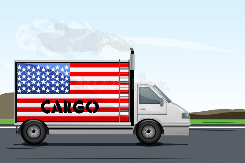 Download Usa cargo stock illustration. Image of country, carry - 16921934