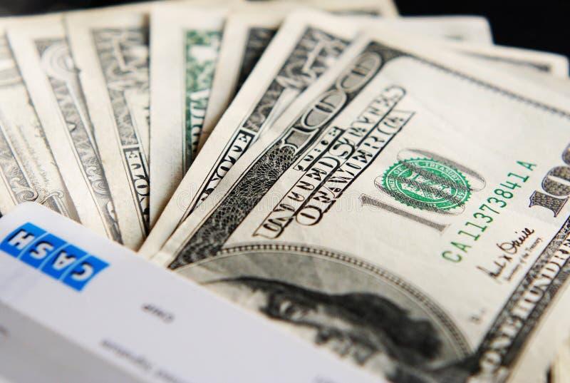 USA cash royalty free stock photography