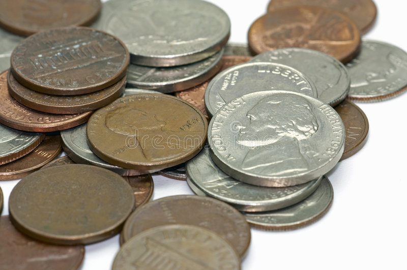 USA - Cents - 4 lizenzfreies stockfoto