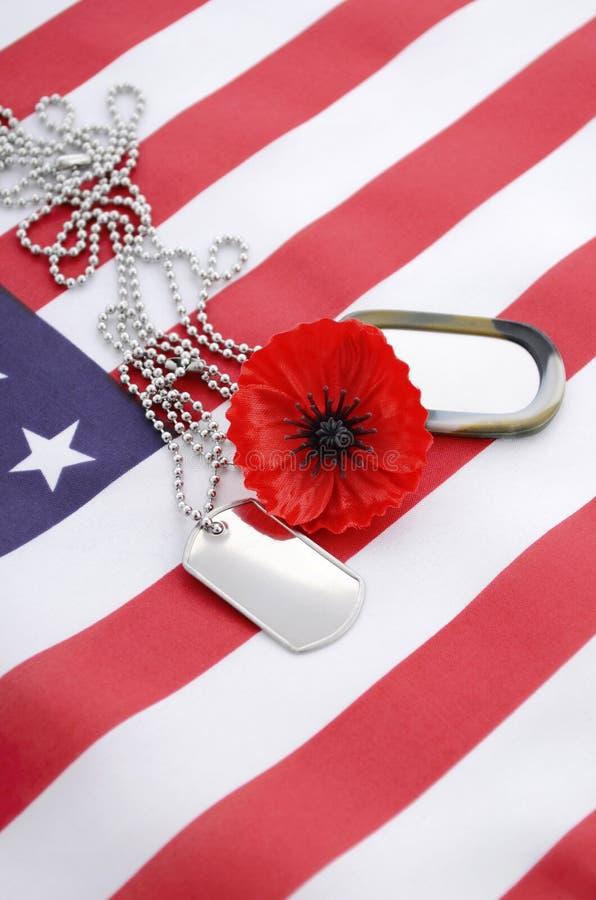USA dnia pamięci pojęcie zdjęcia stock