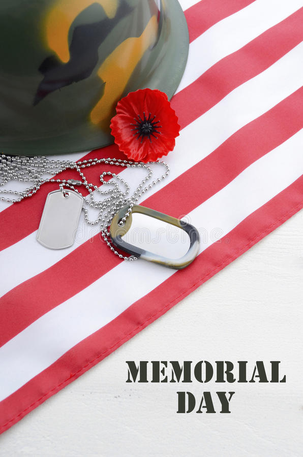 USA dnia pamięci pojęcie obraz royalty free