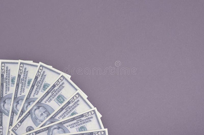 USA dolary sk?ady, minimalny t?o Mieszkanie nieatutowy obrazy royalty free