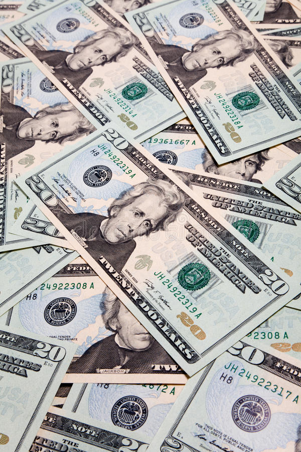 USA Dollar. Concept of business and finance royalty free stock images