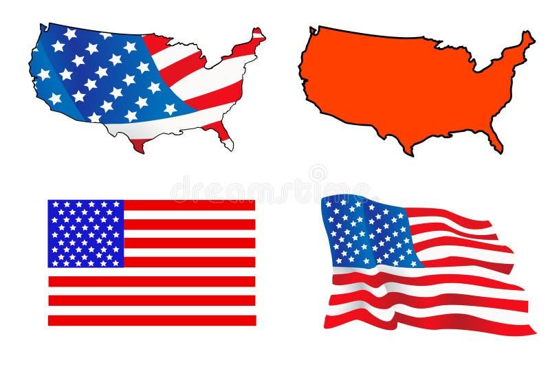 Download USA flag stock vector. Illustration of blue, labor, president - 19764991