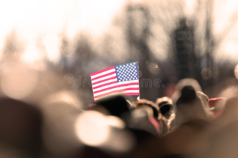 Download USA Flag stock photo. Image of hodling, group, color - 27559454