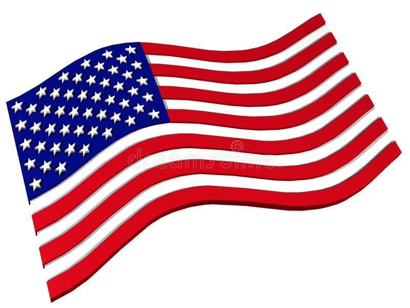 Download USA flag stock illustration. Illustration of nation, government - 8054412