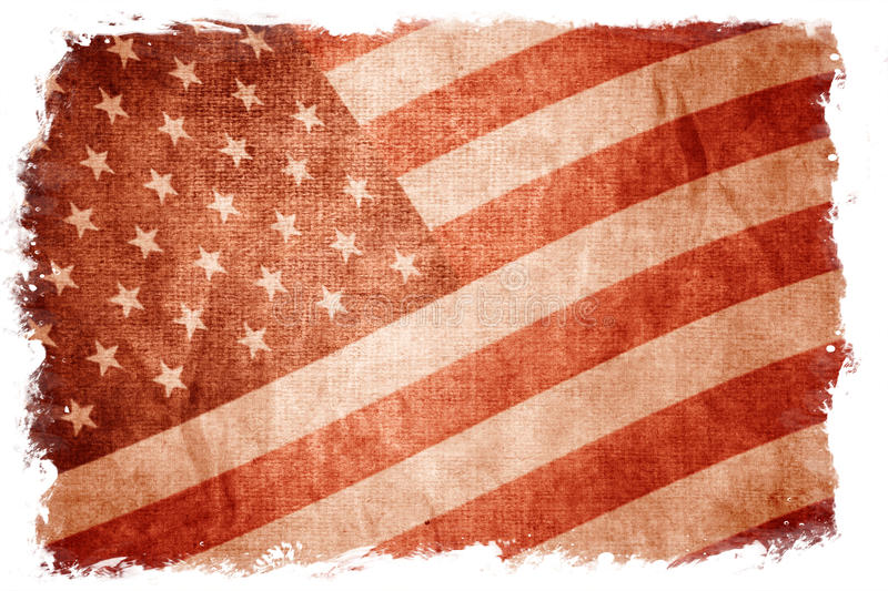 Download USA Flag Isolated On White Royalty Free Stock Photo - Image: 11756985
