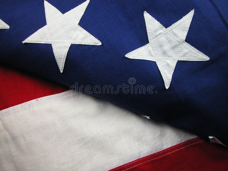 USA Flag-Stripes and Stars royalty free stock image