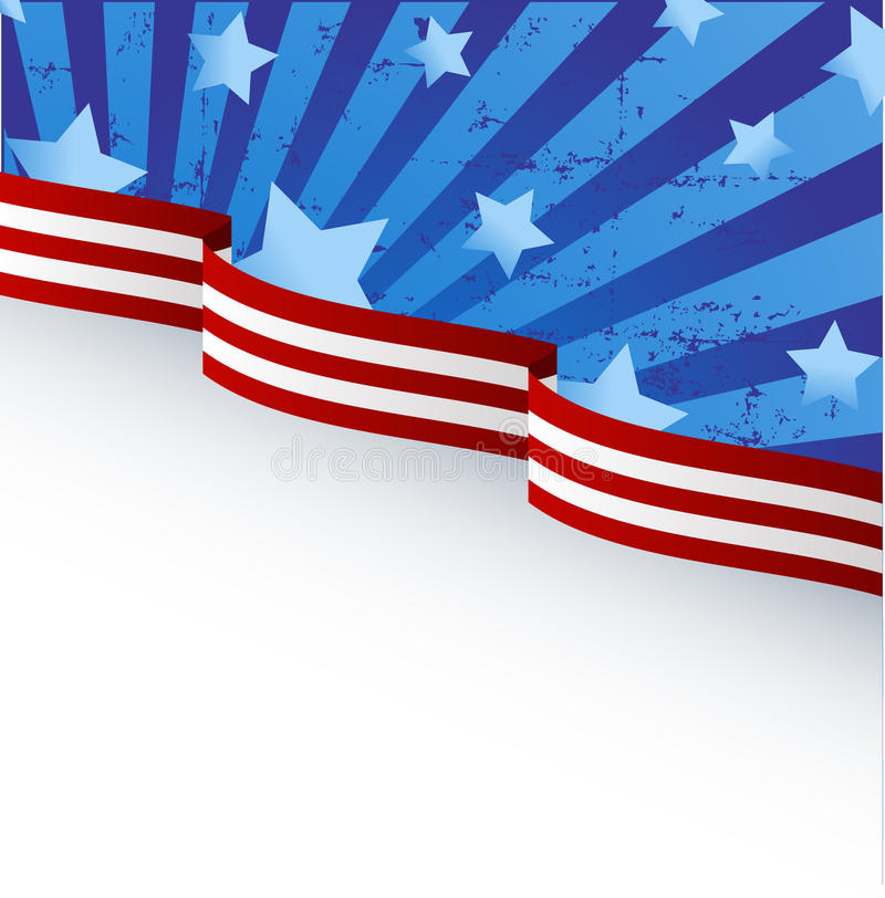 Download USA flag theme stock vector. Image of element, stars - 14674001