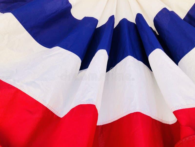 USA flaga amerykańska Folująca rama zdjęcie royalty free
