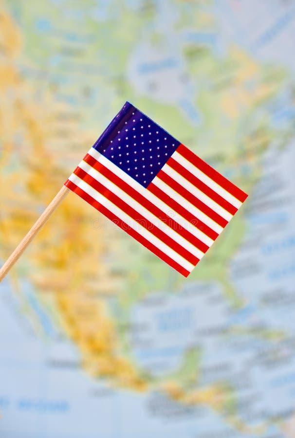 USA flaga (Stany Zjednoczone Ameryka) zdjęcia stock