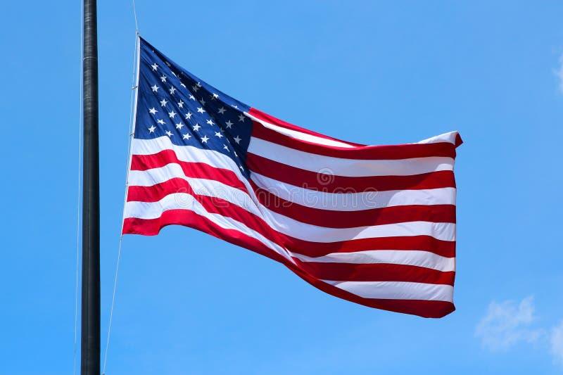 USA-flagga arkivbild