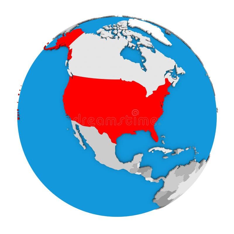 Usa on globe stock illustration illustration of countries 83797175 download usa on globe stock illustration illustration of countries 83797175 gumiabroncs Images