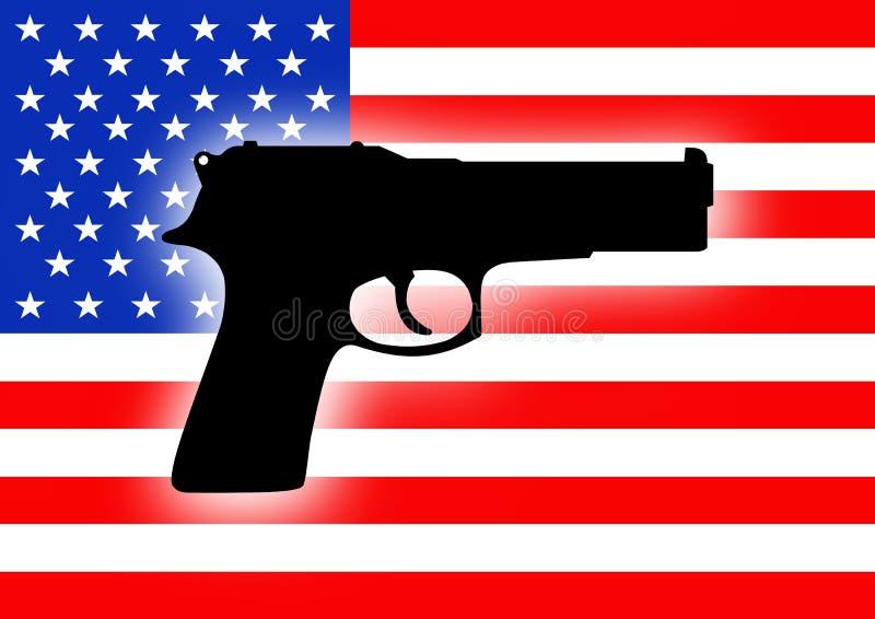 USA Gun Crime Stock Images