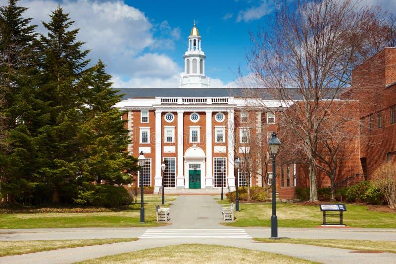 06.04.2011, USA, Harvard University, Bloomberg royalty free stock photography