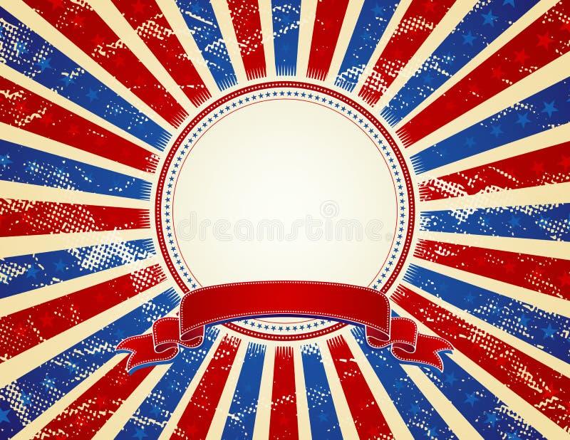 USA-Hintergrund, Vektor vektor abbildung