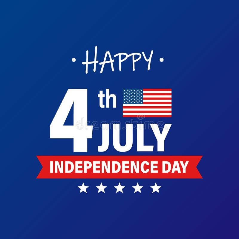USA Independence Day 4th of July holiday. United states of America flag. Happy independence day banner. Memorial day. American. Background. Vector illustration vector illustration