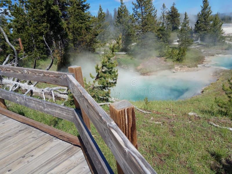 USA internationella Yellowstone parkerar royaltyfria foton