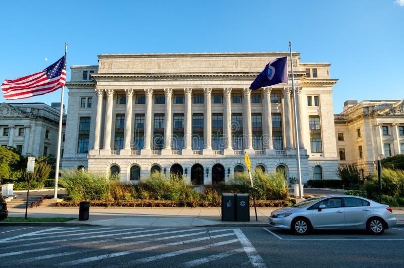 USA-Jordbruksavdelningen i Washington D C arkivbilder
