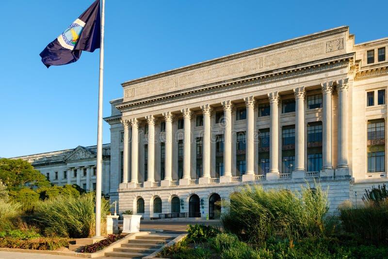 USA-Jordbruksavdelningen i Washington D C fotografering för bildbyråer