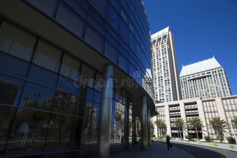 USA - Kalifornia, San Diego, Marriott markiza Marina - zdjęcie stock