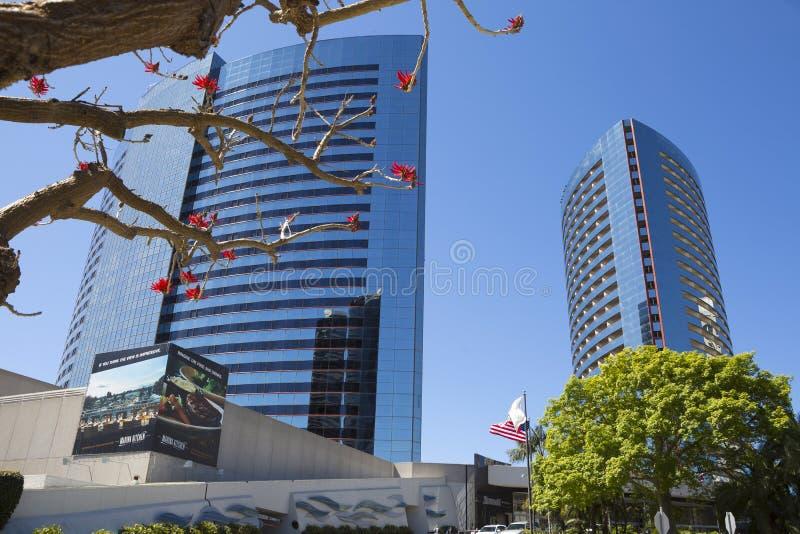 USA - Kalifornien - San Diego - Marriott Marquis San Diego Marina lizenzfreies stockbild
