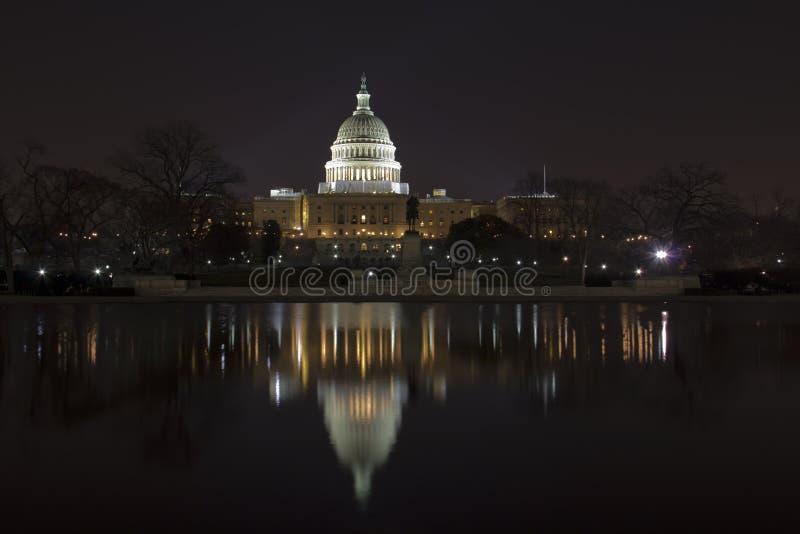 USA-Kapitolium arkivbild