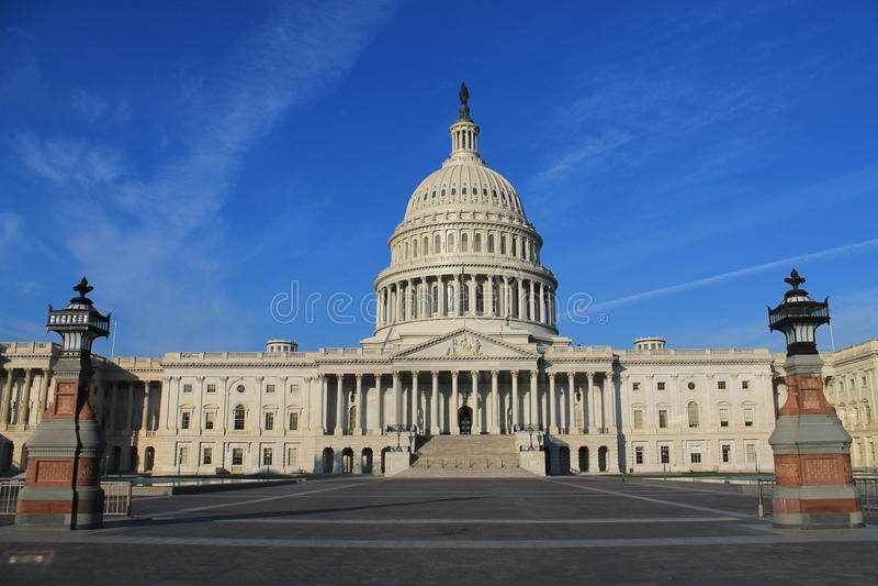 USA-Kapitolium royaltyfri bild