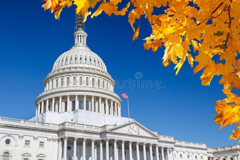USA-Kapitolium royaltyfria bilder