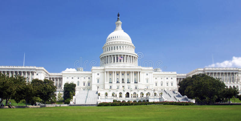 USA-Kapitoliumbyggnad arkivbilder