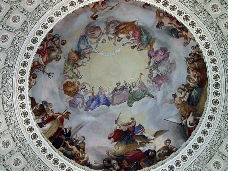 USA-Kapitoliumrotunda royaltyfria foton