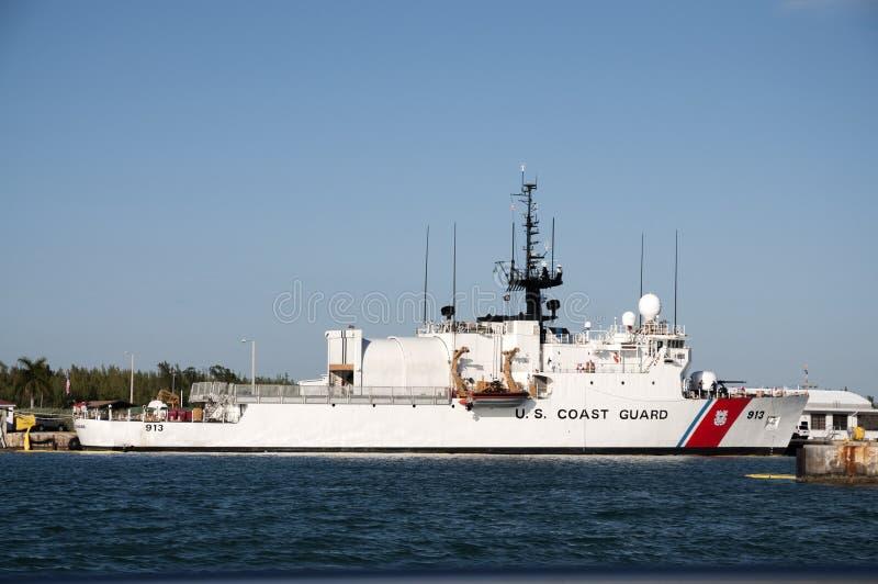USA-kustbevakningskepp fotografering för bildbyråer