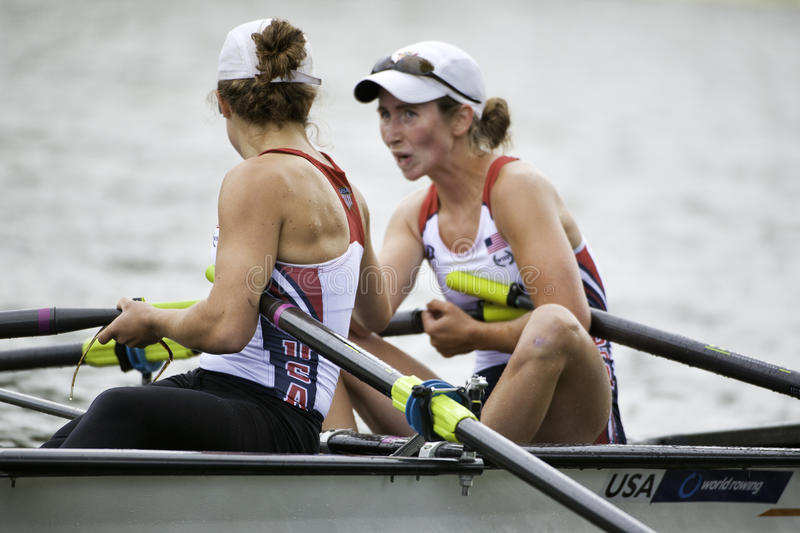 USA Lightweight Women S Double Editorial Photography