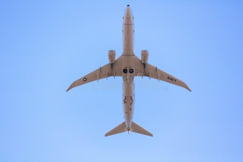 USA MARINflygplan arkivfoton