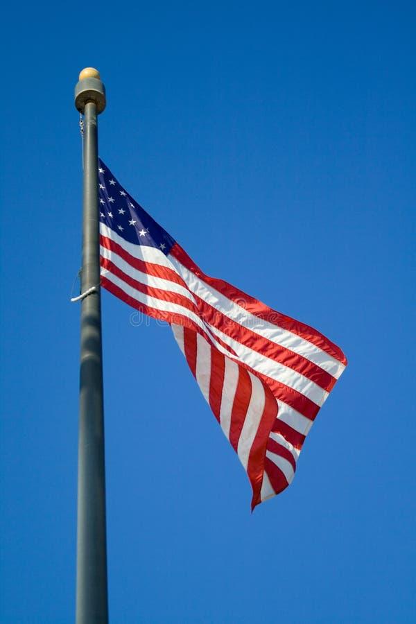 USA-Markierungsfahne lizenzfreie stockfotos