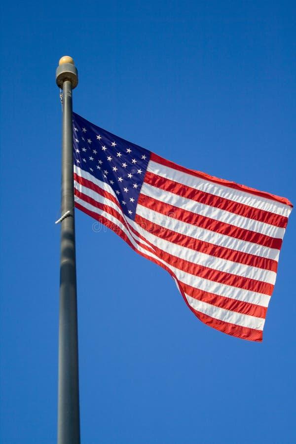 USA-Markierungsfahne stockbild