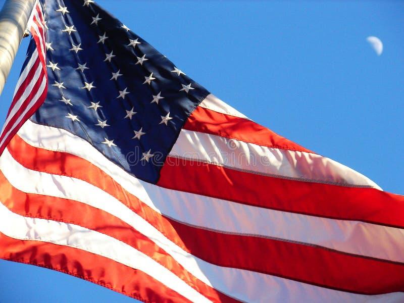 USA-Markierungsfahne stockfotografie